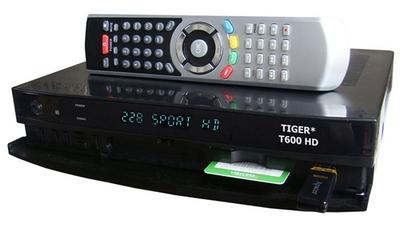 спутниковый ресивер Tiger* T600 HD